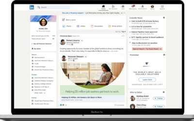 LinkedIn Refreshed Design